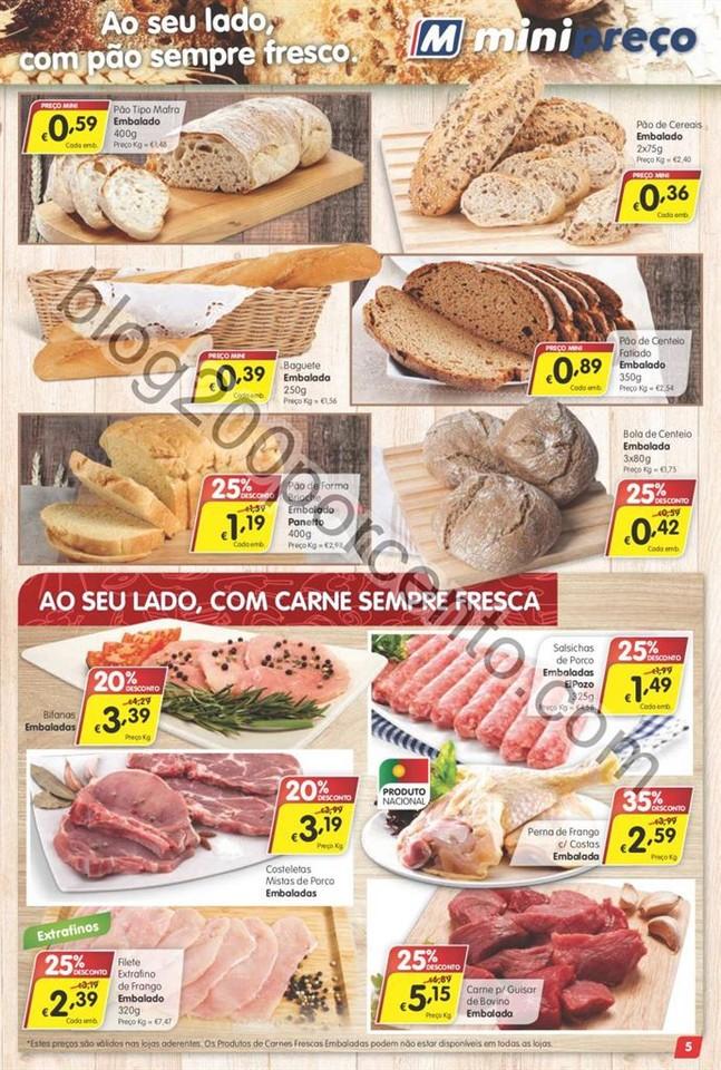 Antevisão Folheto MINIPREÇO Promoções de 2 a 8