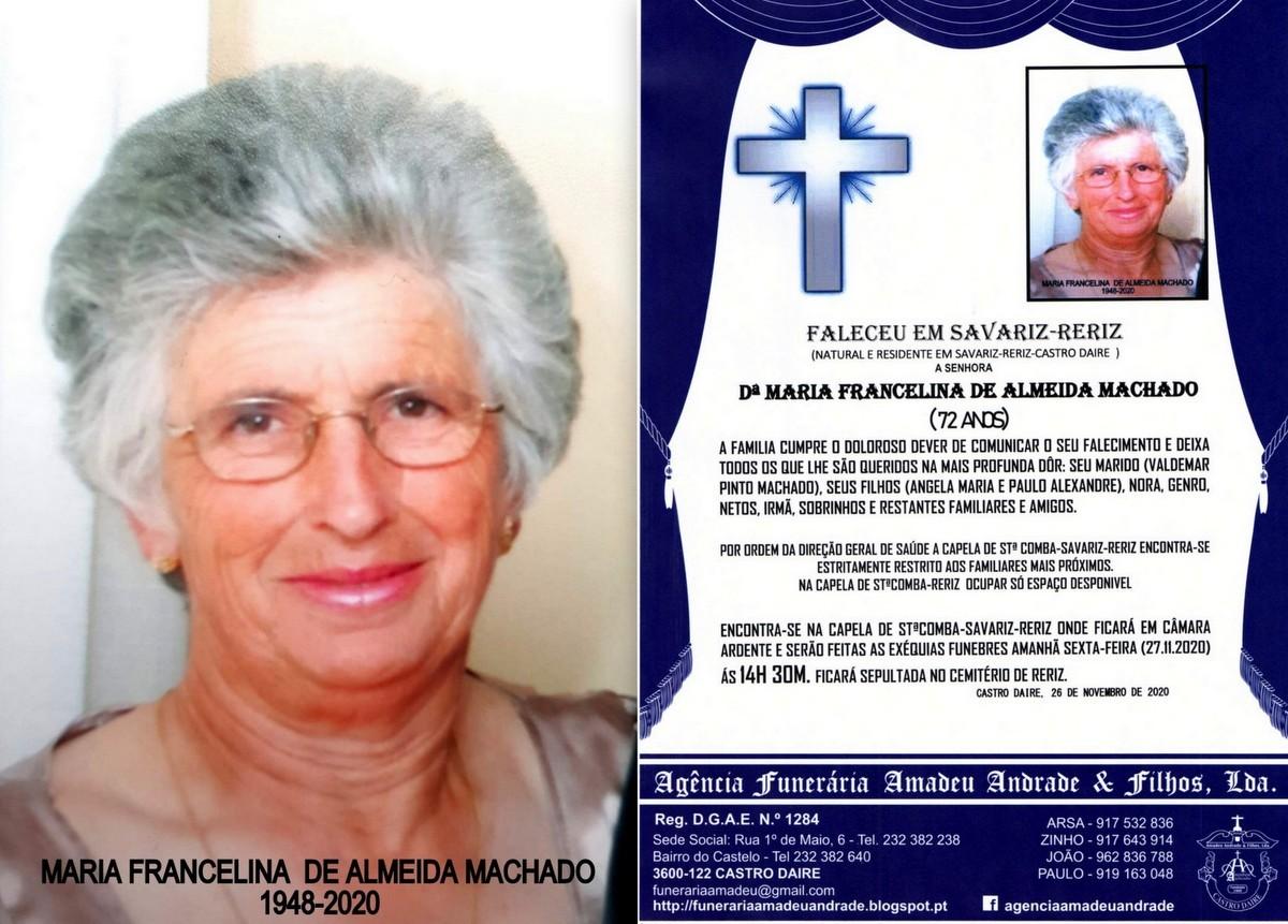 FOTO RIP  DE MARIA FRANCELINA DE ALMEIDA MACHADO-7