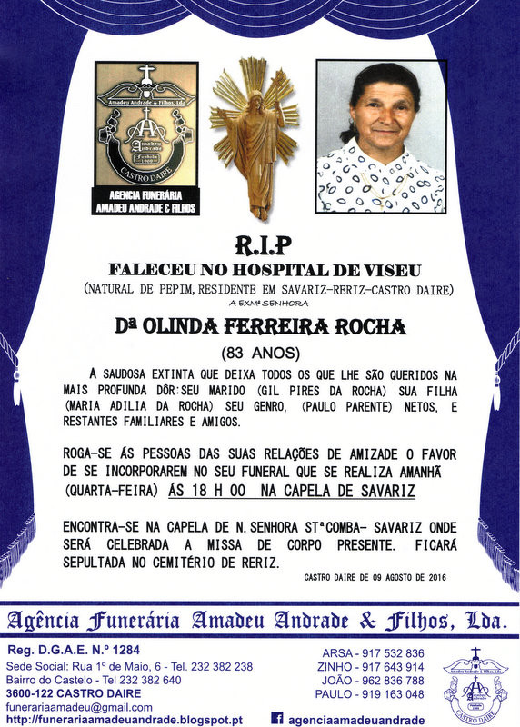 RIP2 -OLINDA FERREIRA DA ROCHA-83 ANOS (SAVARIZ).j