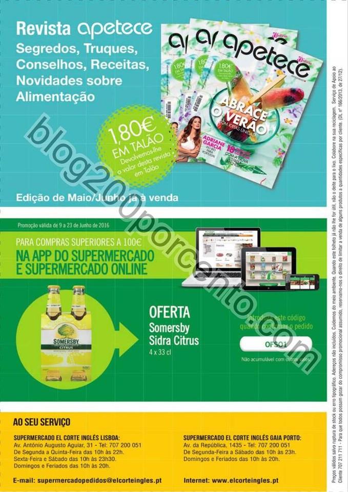 Novo Folheto EL CORTE INGLÉS Promoções de 9 a 2