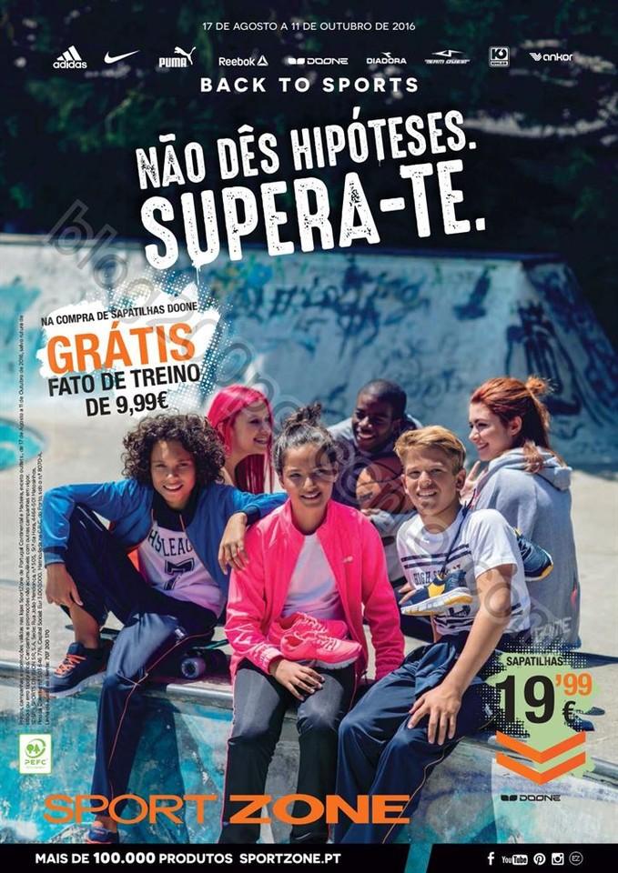 Novo Folheto SPORT ZONE Back to School II 17 agost