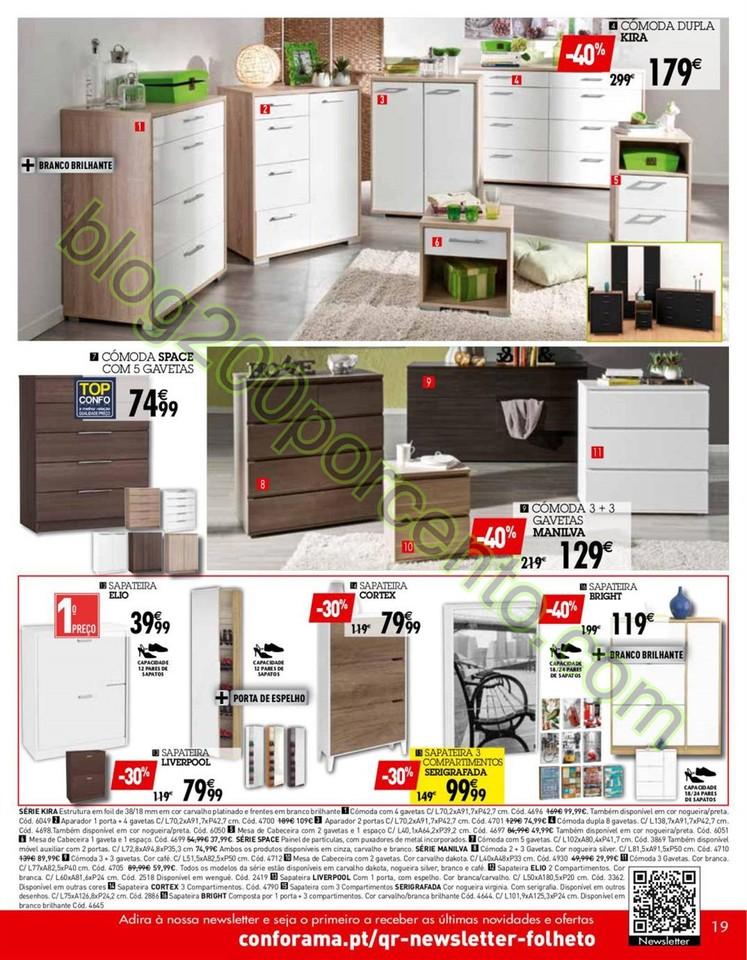 Novo Folheto CONFORAMA Promoções de 17 a 31 mar