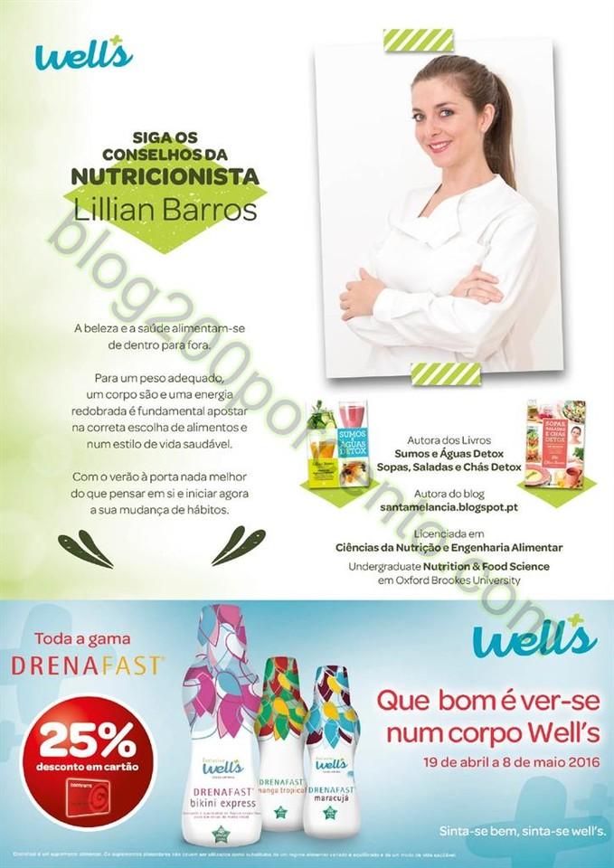 Novo Folheto WELLS promoções de 19 abril a 8 mai