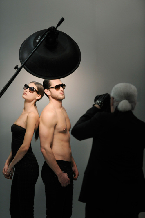 Making of Karl Lagerfeld Eyewear Campaign.jpg