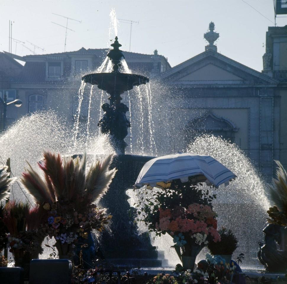 Rossio, Lisboa (A. Pastor, 197...)