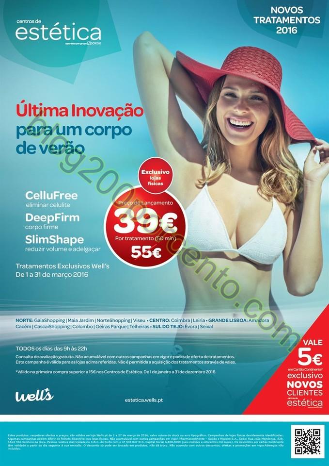 Novo Folheto WELLS Primavera promoções até 27 m