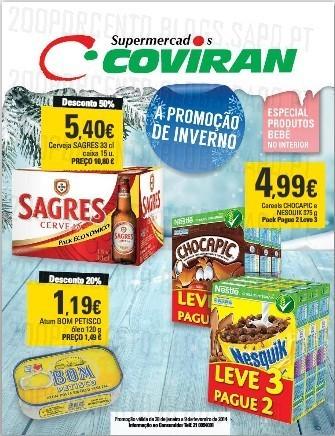 Antevisão folheto | COVIRAN | de 28 janeiro a 9 fevereiro