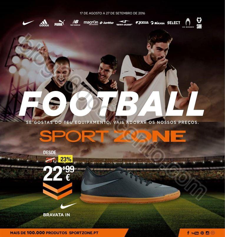Novo Folheto SPORT ZONE Especial Futebol promoçõ