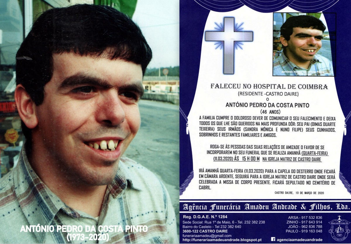 FOTO RIP DE ANTÓNIO PEDRO DA COSTA PINTO-!973-202