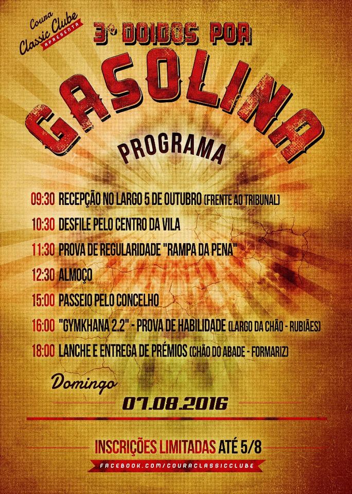 Programa 3.º Doidos por Gasolina