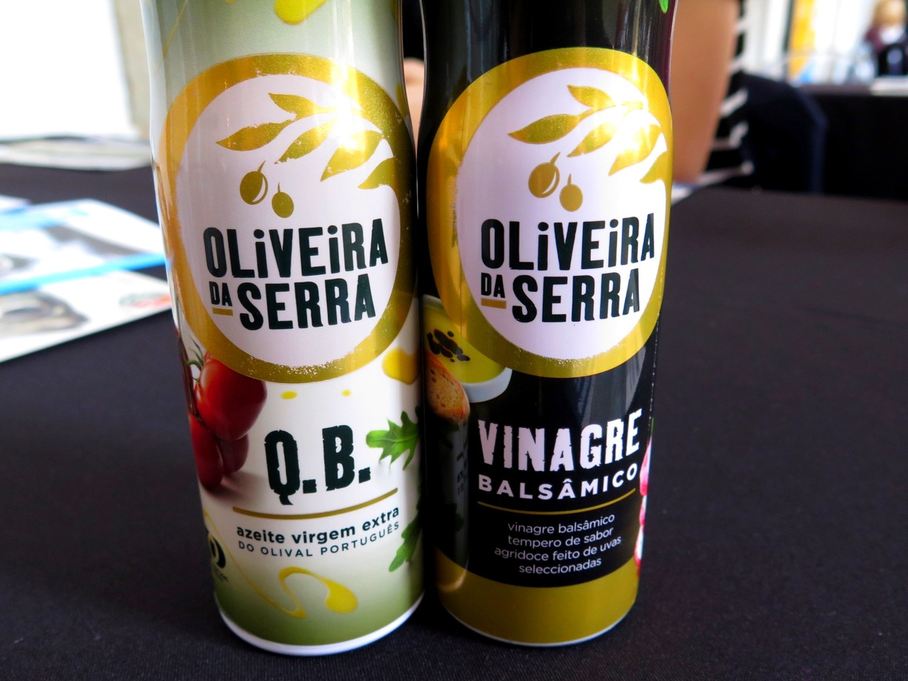 Sprays Oliveira da Serra: azeite e vinagre balsâmico