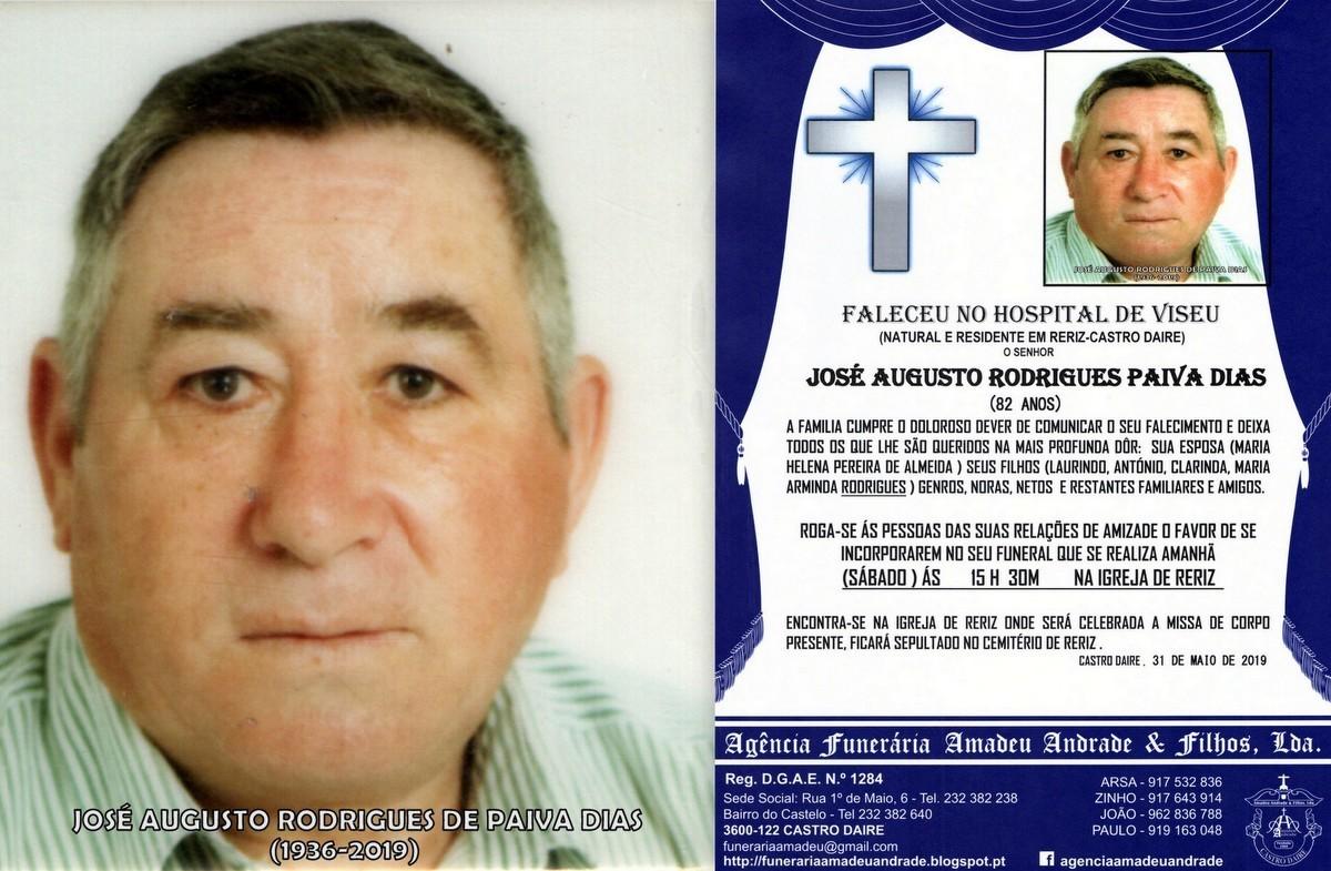 FOTO RIP DE JOSÉ AUGUSTO RODRIGUES PAIVA DIAS-84A