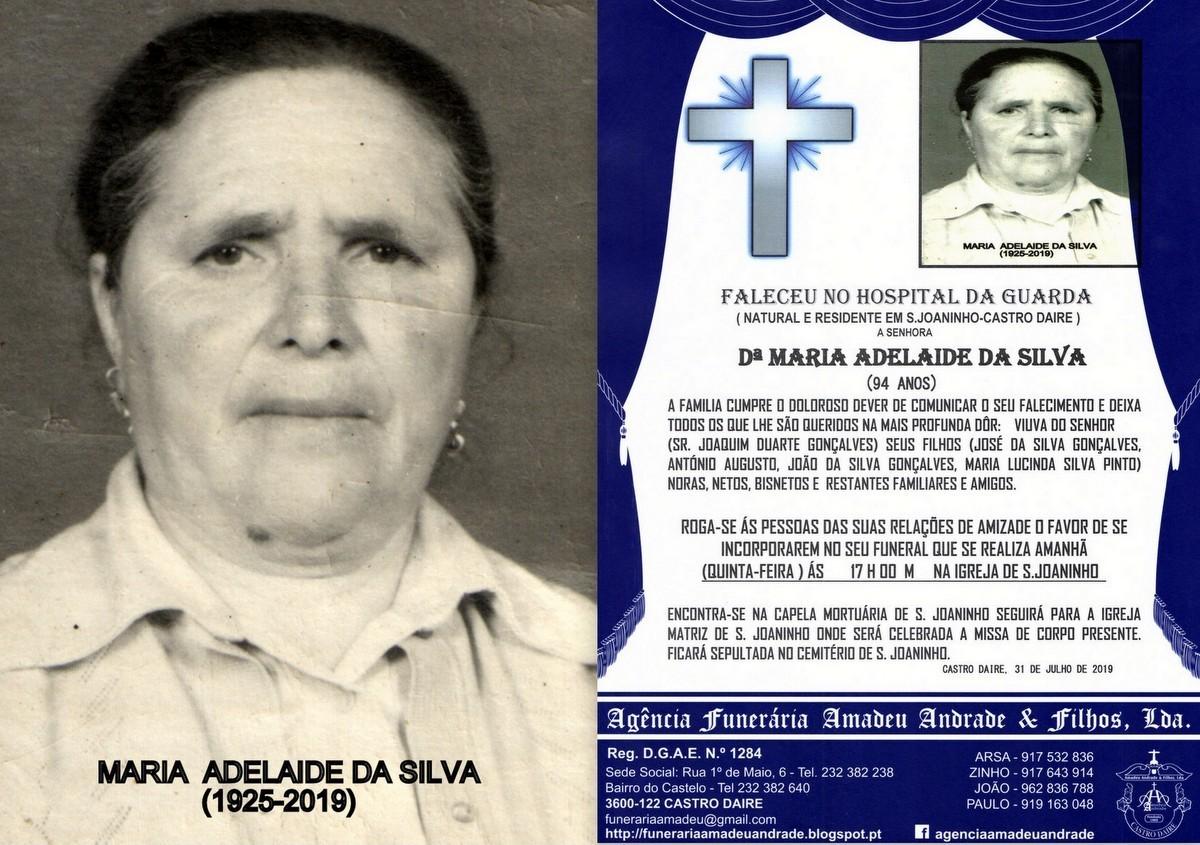 FOTO RIP DE MARIA ADELAIDE DA SILVA -94 ANOS (S.jp