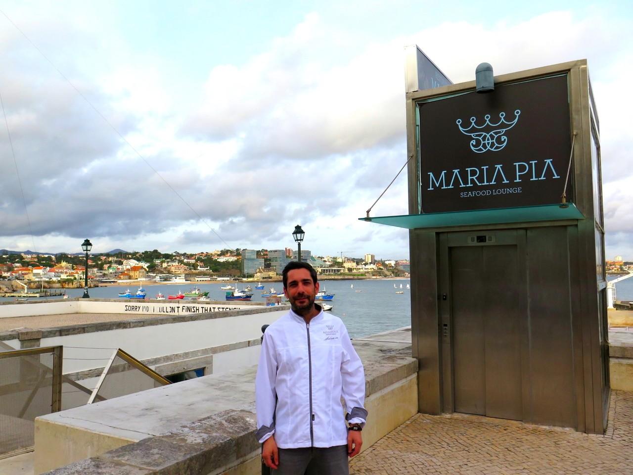 MARIA PIA... e a Baía de Cascais