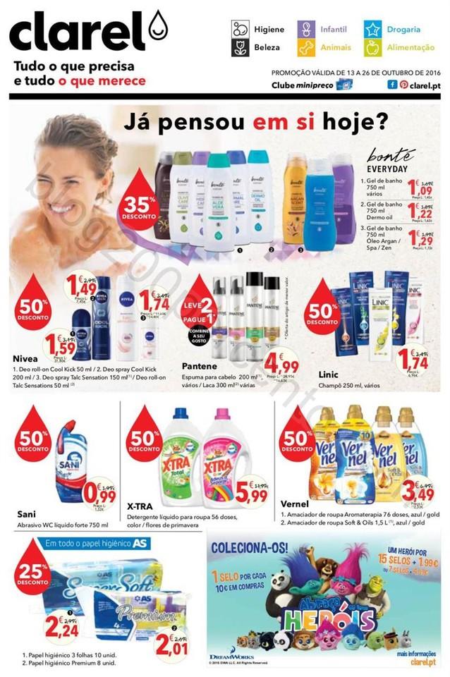 Antevisão Folheto CLAREL Promoções de 13 a 26 o