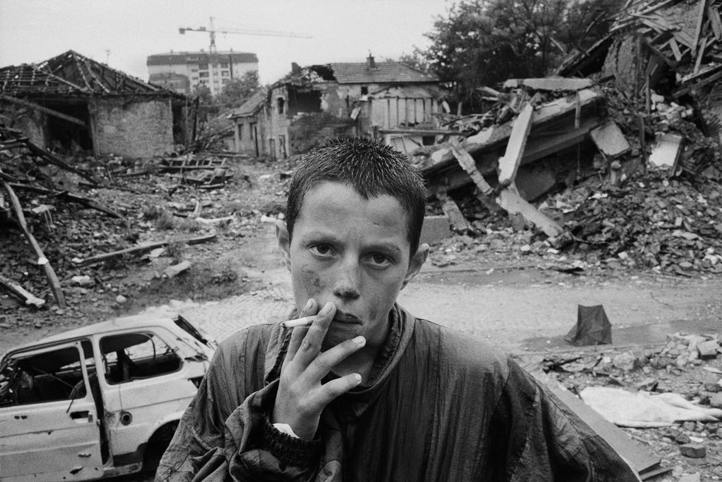 Pristina, Kosovo, 1999 by Abbas.jpg