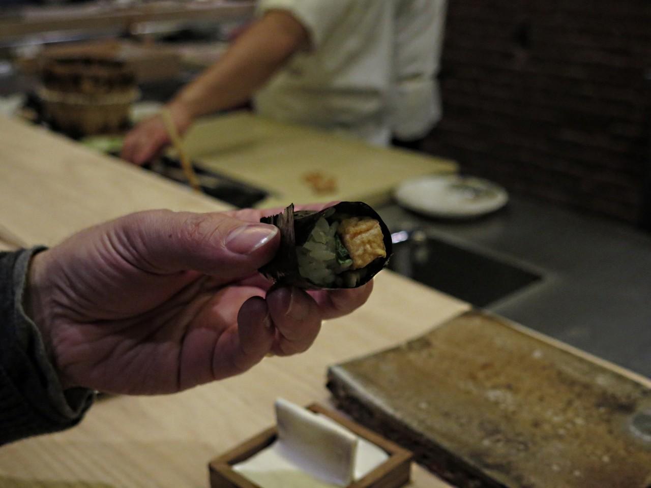 Se o sushi não é cozinha, então é o quê?