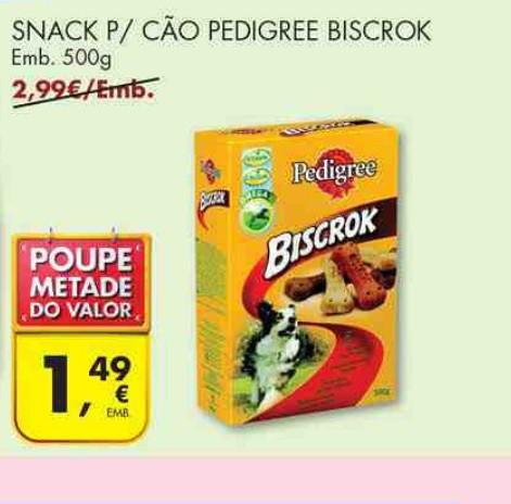 bricopoupar acumulação promoção pingo doce comida para cão pedrigree biscrok
