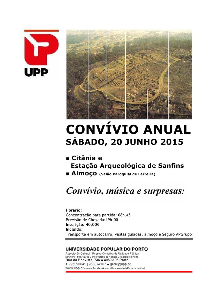 UPP Convívio 2015