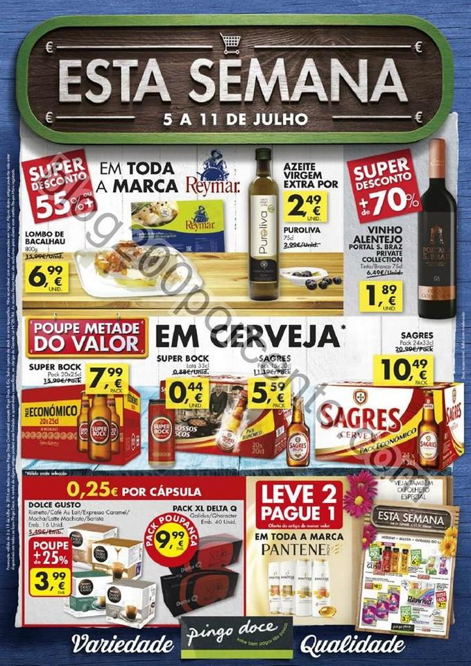 Antevisão Folheto PINGO DOCE Promoções de 5 a 1