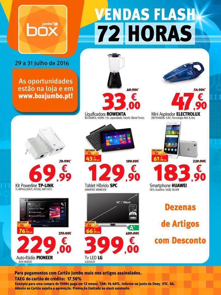 Antevisão Folheto JUMBO - BOX Promoções de 29 a
