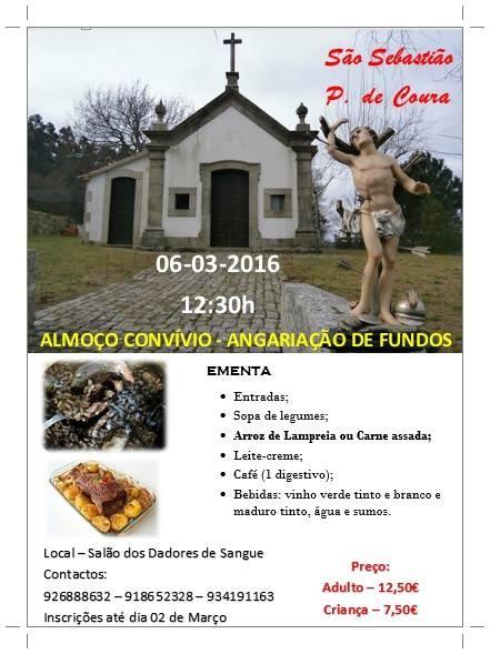 Almoco angariacao fundos s. sebastiao 2016