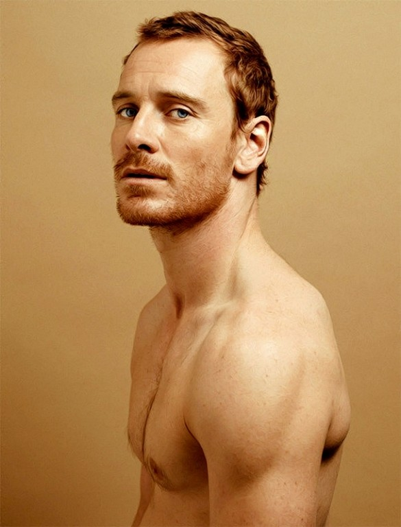 Michael Fassbender photographed by Peter Hapak