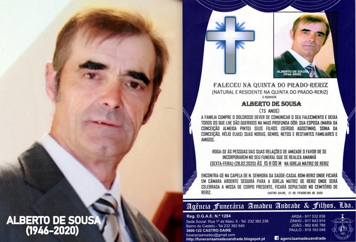 RIP-FOTO DE ALBERTO DE SOUSA-73 ANOS (QUINTA DO PR