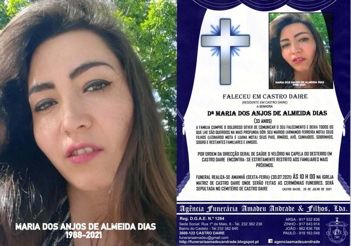 FOTO RIP  DE MARIA DOS ANJOS DE ALMEIDA DIAS -33 A