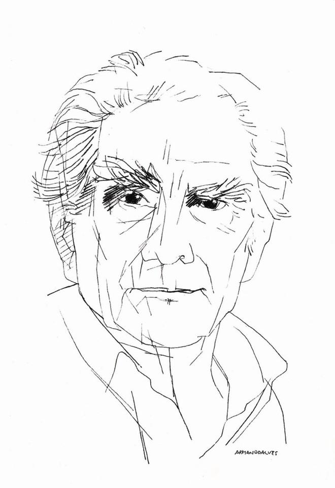 Álvaro Cunhal desenho