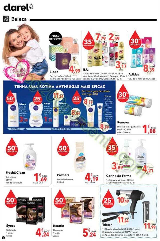 Antevisão Folheto CLAREL Promoções de 21 abril