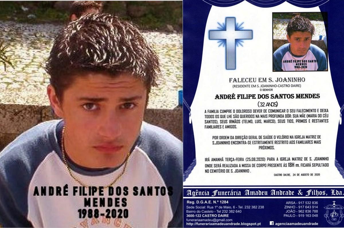 FOTO  RIP DE ANDRÉ FILIPE DOS SANTOS MENDES-32 AN