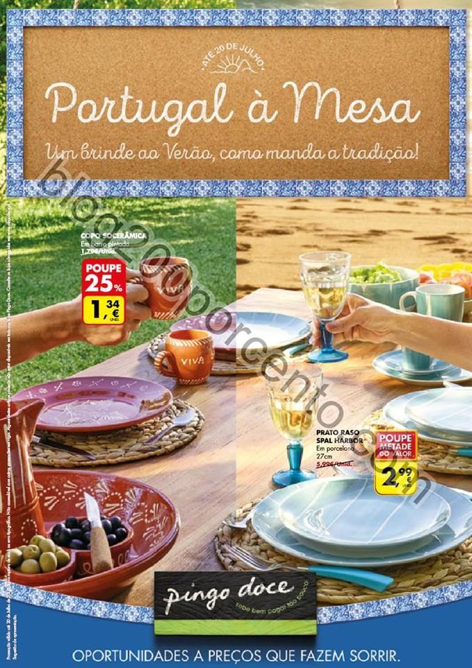 Novo Folheto PINGO DOCE Promoções Extra até 20
