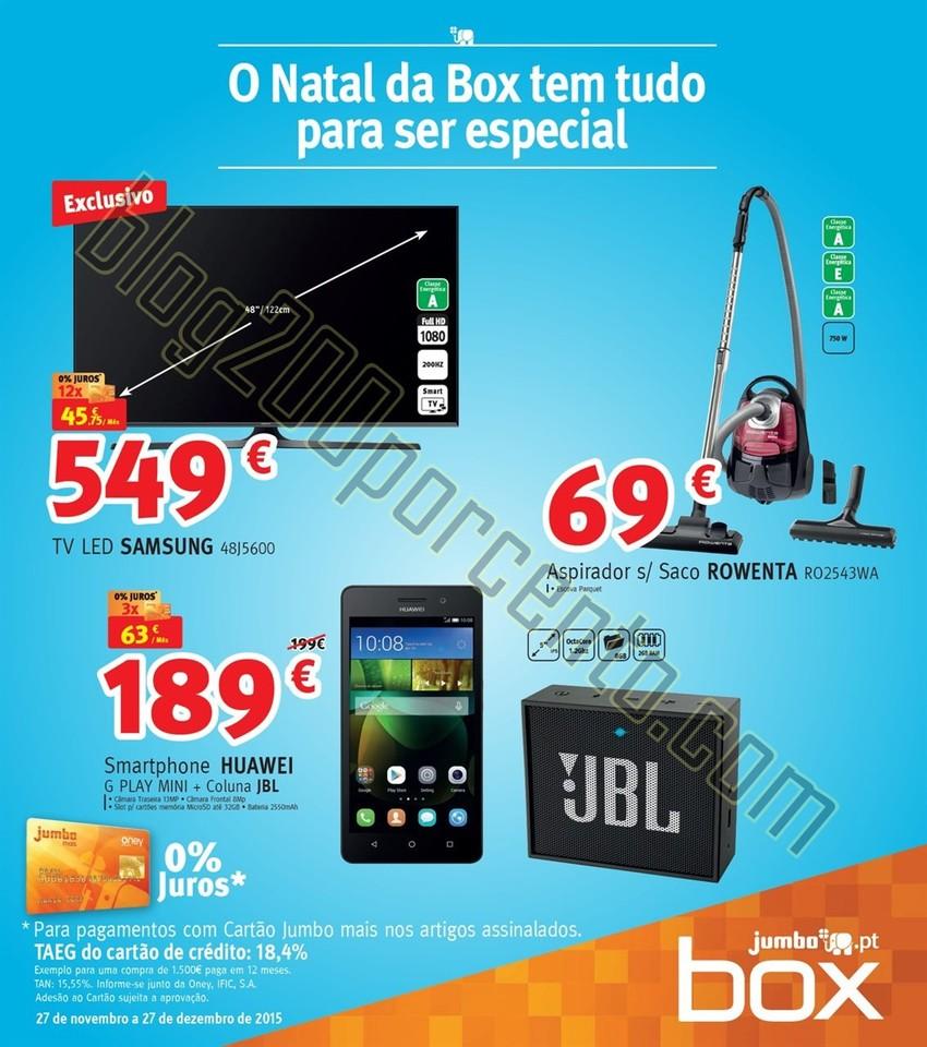 Antevisão Folheto JUMBO - BOX Natal de 27 novembr