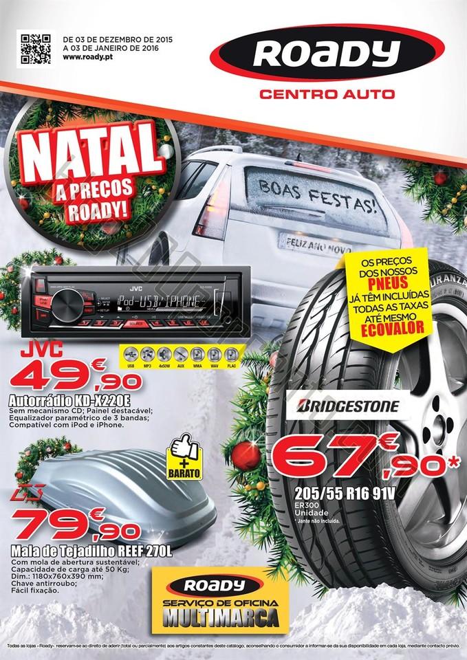Antevisão Folheto ROADY Promoções de 3 dezembro