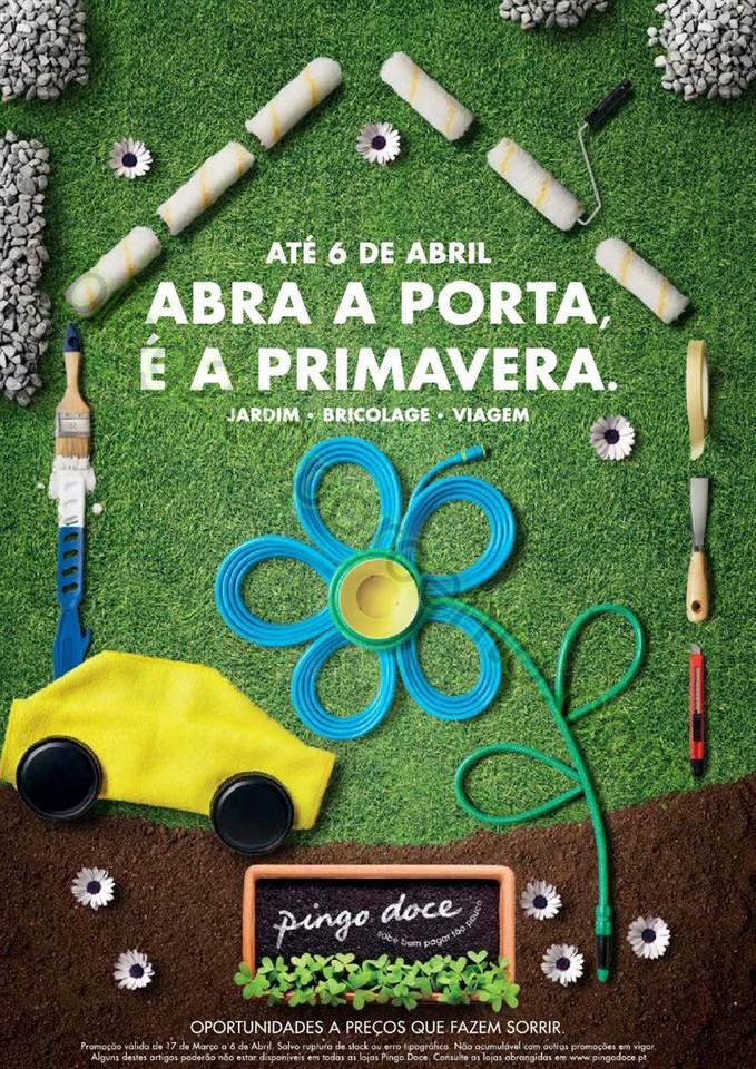 Antevisão Folheto PINGO DOCE Primavera de 17 mar