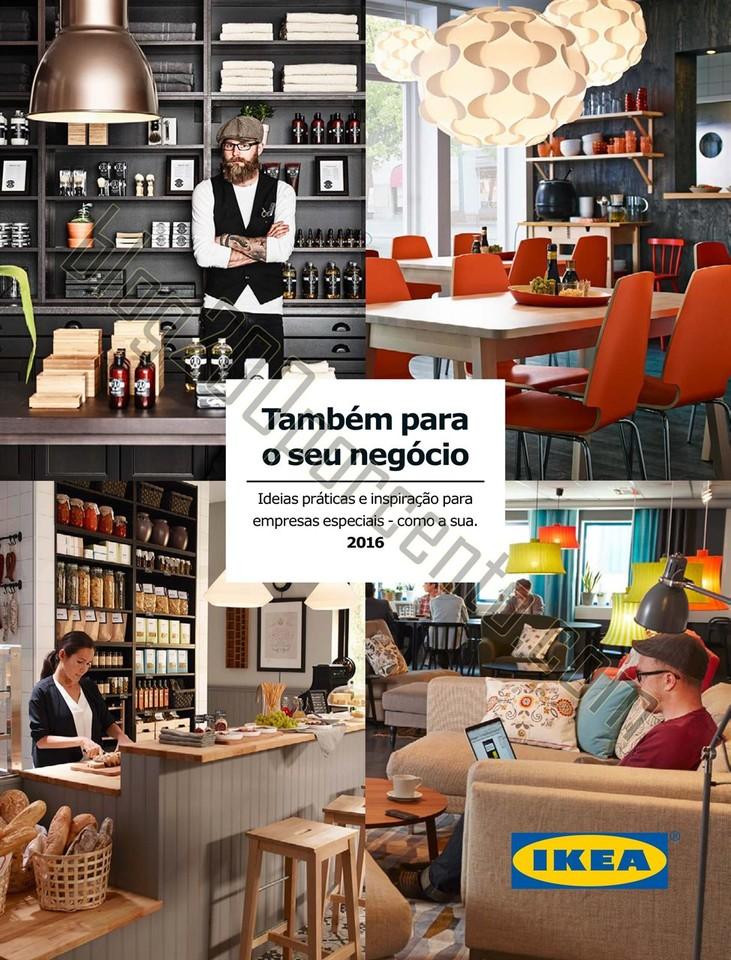 Novo Folheto IKEA Ideias para o seu negocio 2016 p