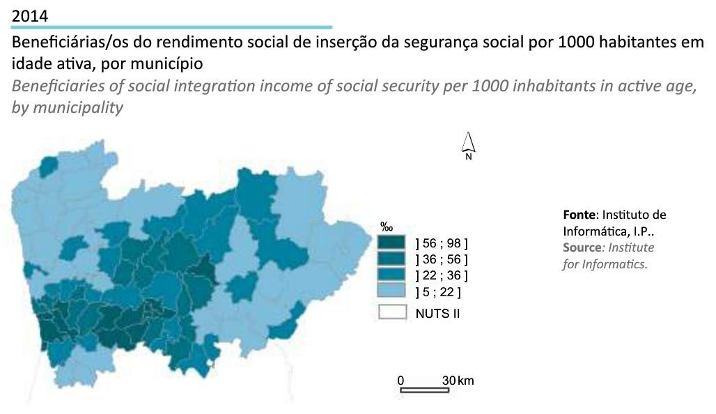 Região Norte em Números INE 2014_beneficiarios R