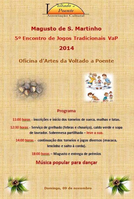 Cartaz Magusto e 5ºEnc Jogos Tradicionais 2014.JP