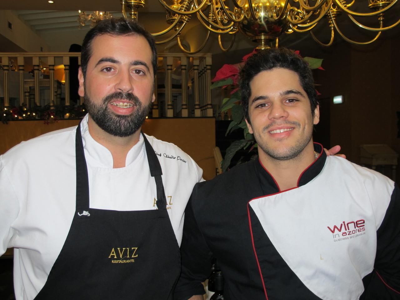 Cláudio Pontes e Pedro Freitas