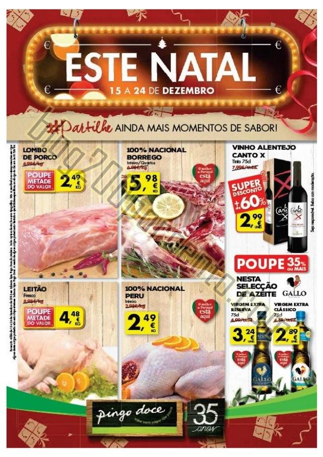 Antevisão Folheto PINGO DOCE Madeira de 15 a 24 d