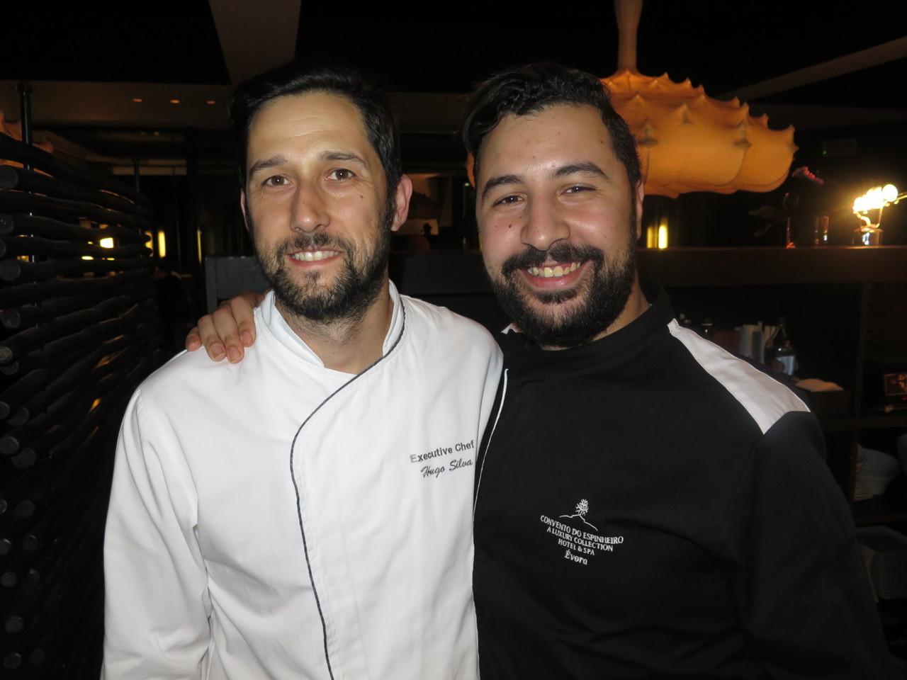 Hugo Silva e Bouazza Bouhlani