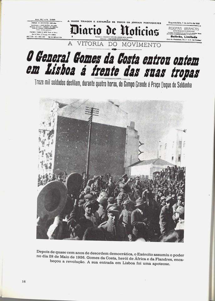 A Vitória do Moimento (D.N., 7/6/926)