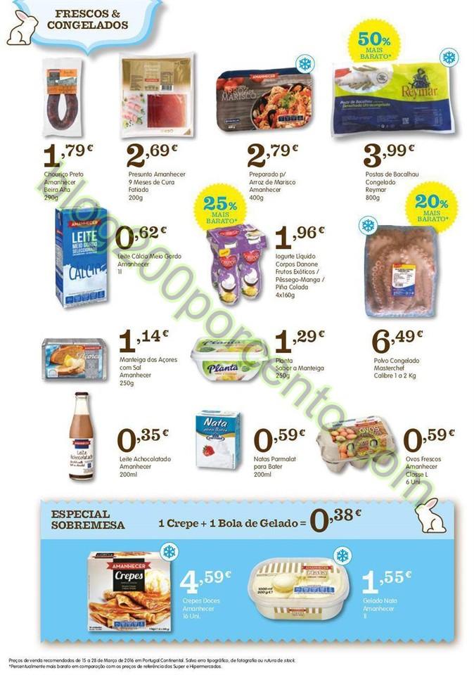 Novo Folheto AMANHECER Promoções de 15 a 28 mar