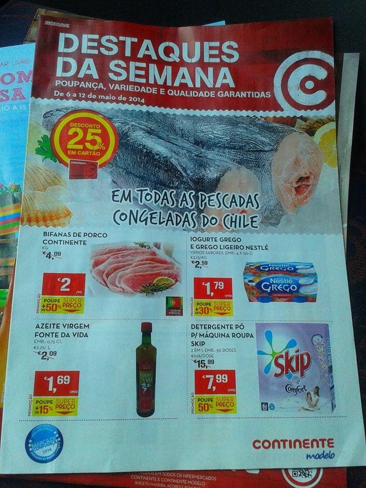Antevisão Novo Folheto Continente Promoçoes
