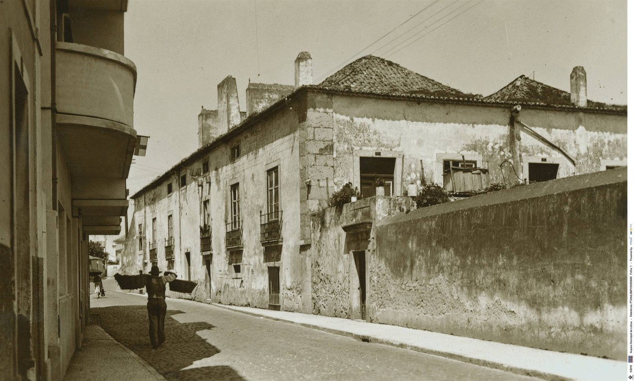 Praia da Matinha, Lisboa (E. Portugal, c. 1940)