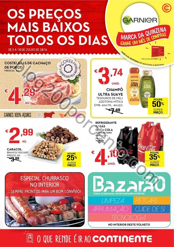 Antevisão Folheto MODELO Açores Promoções de 5