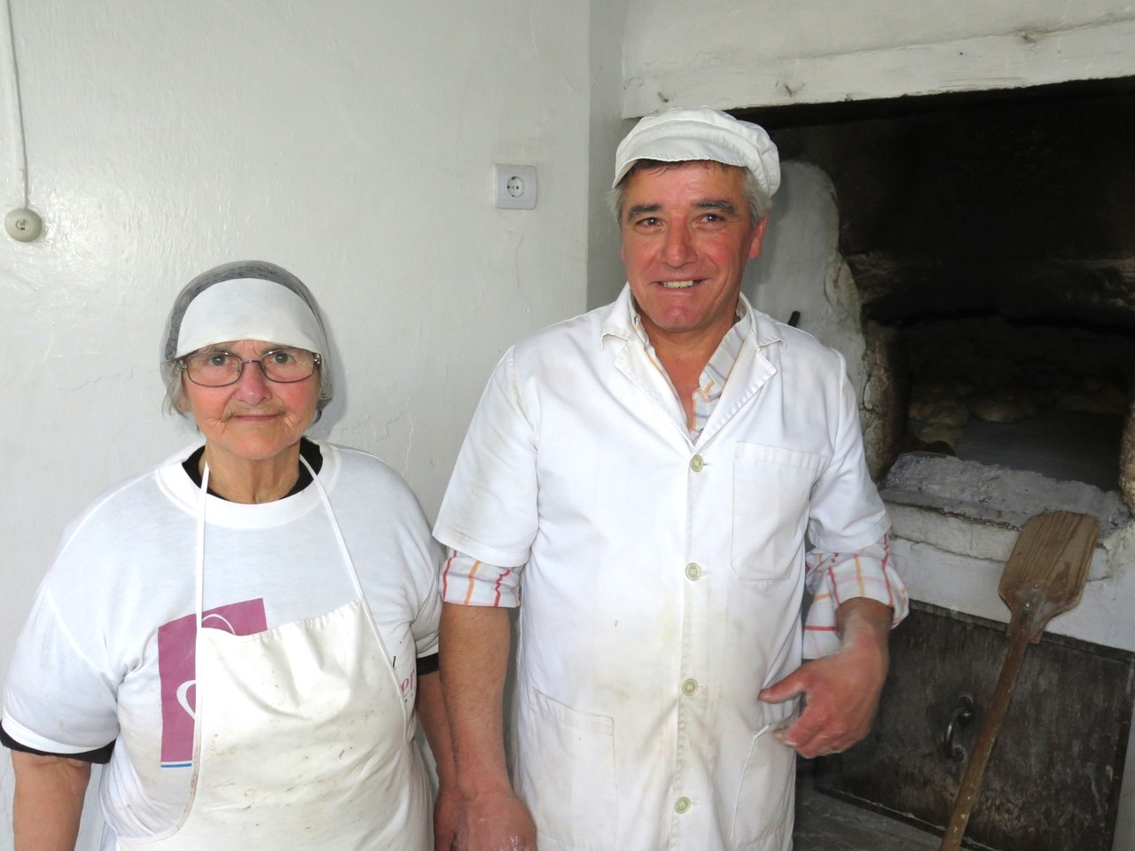 Ema Rosa e o filho Domingos