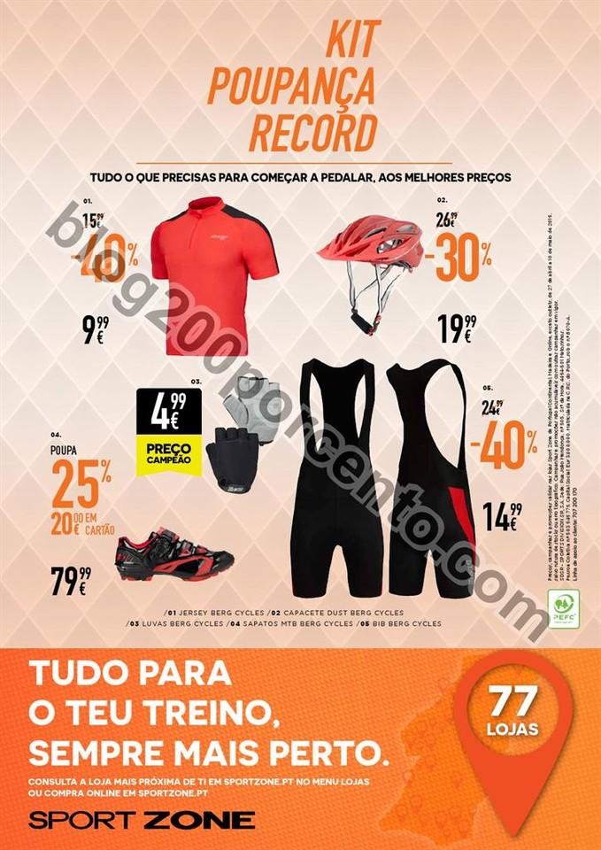 Novo Folheto SPORT ZONE Poupança de 27 abril a 10