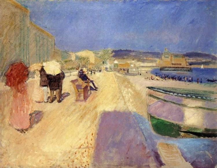 Edward Munch promenade des anglais 1891.jpg